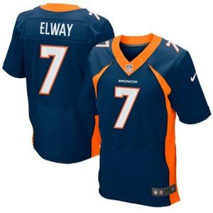 Denver Broncos John Elway 7 Retired Elite Jersey